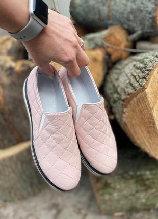 Женские кожаные лоферы туфли 36 37 38 39 40