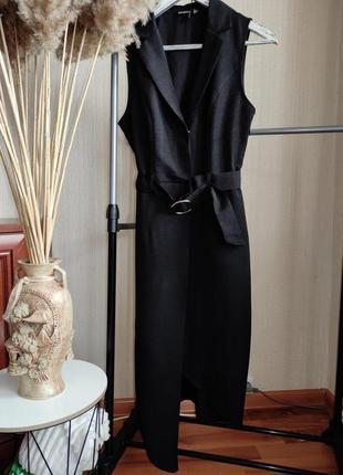 Платье блейзер миди boohoo p s2 фото