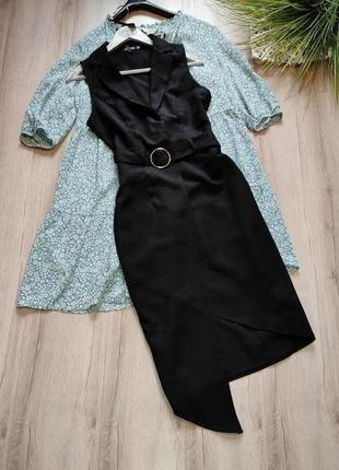 Платье блейзер миди boohoo p s4 фото