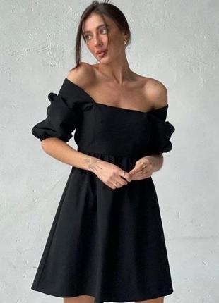 Платье с бантиком на спине