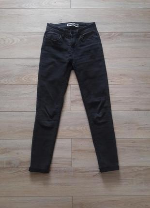 Черные джинсы скини skinny
