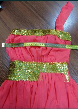 Платье 👗 в пол ,из шифона с отделкой лифа паетками.☀️