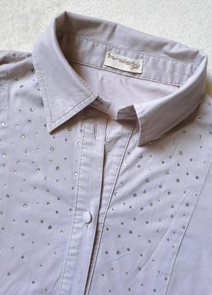 Блуза с паетками