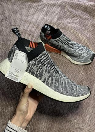Мужские кроссовки оригинал adidas nmd cs2 primeknit1 фото