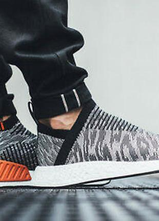 Мужские кроссовки оригинал adidas nmd cs2 primeknit10 фото