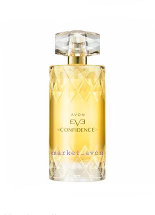 Женская парфюмерная вода avon eve confidence 100 ml
