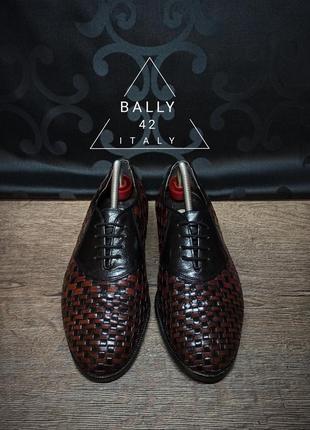 Туфли bally 42p 28cm италия