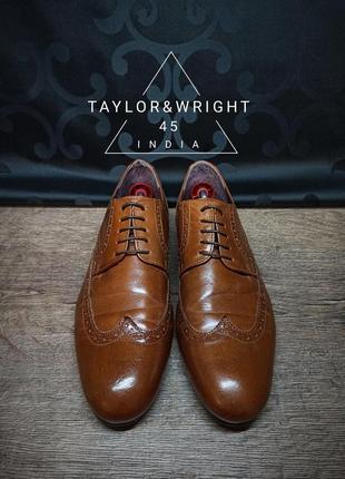 Туфли taylor&wright 45p 31,5 индия