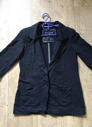 Пиджак блейзер женский трикотажный denim co