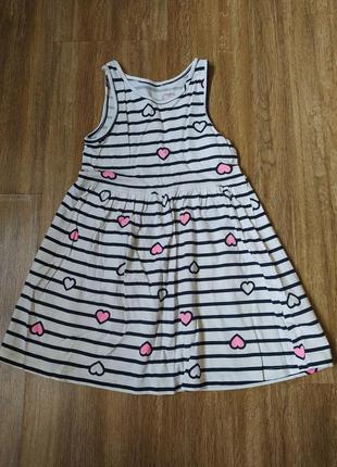 Летние платье h&m 3-4 года