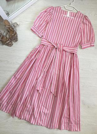 Сукня міді laura ashley1 фото