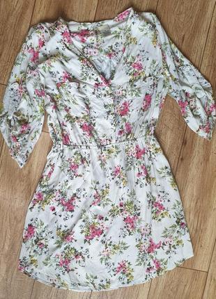 Платье рубашка  р 42/44 mimi chica