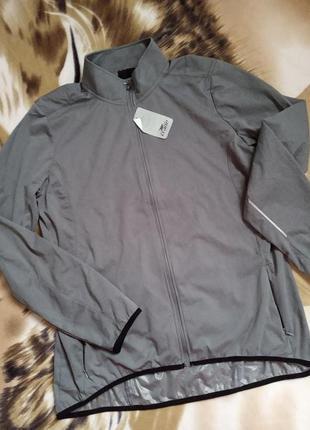 Тонка велосипедна куртка дощовик crane
