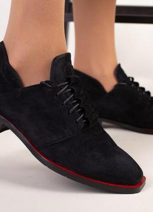 Распродажа шикарные туфли натуральный замш тренд сезона