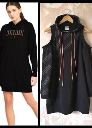 Платье худи puma, платье puma толстовка