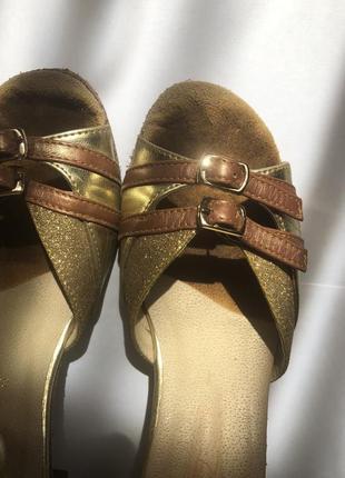 Танцевальные туфли для спортивно-бальных танцев/латина