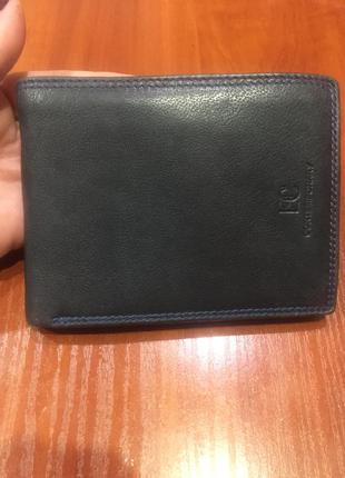 Кожаный кошелёк, портмоне vera pelle