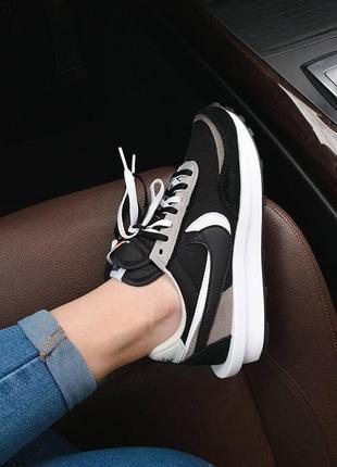 Nike x sacai ldwaffle 🔻 люксовые женские кроссовки 36-40р