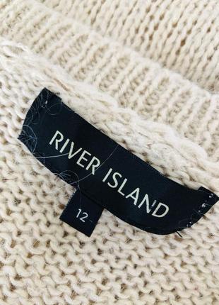 Бежевый свитер с содержанием мохера8 фото