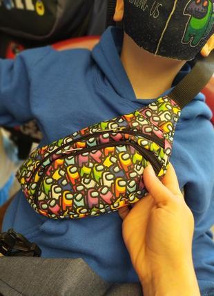Детская бананка,сумка на пояс