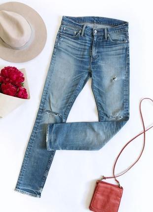 🔥распродажа!🔥 синие джинсы levis высокая посадка 510