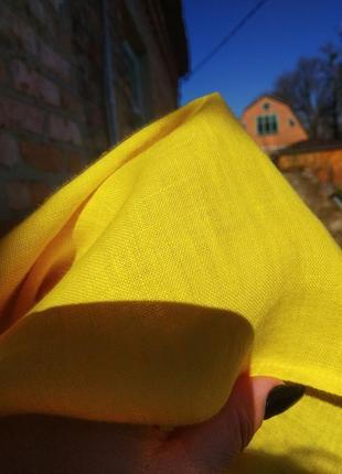 Плаття шикарне ,льон італія5 фото
