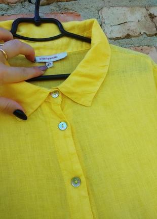 Плаття шикарне ,льон італія4 фото
