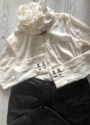 Необычная блуза рубашка armani !