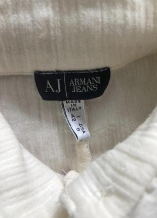 Необычная блуза рубашка armani !3 фото