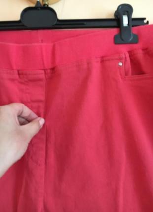 Батал большой размер стильные штаны штаники джегинсы брюки брючки2 фото