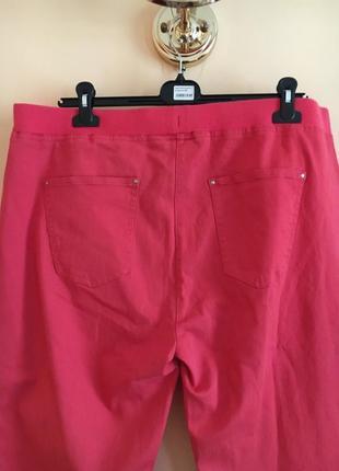 Батал большой размер стильные штаны штаники джегинсы брюки брючки6 фото