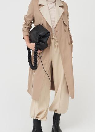 Новый шикарный миди плащ тренч пальто, качество польша (пролет с размером!)