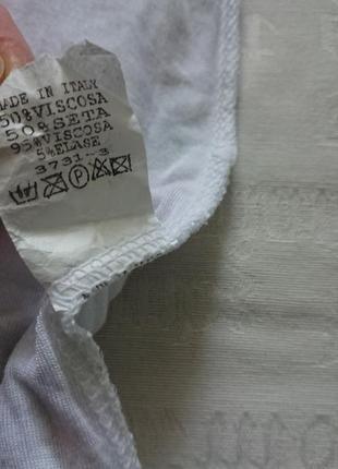 Очаровательная блуза (италия) /воздушная майка на подкладке #50%шелк,50%вискоза#6 фото
