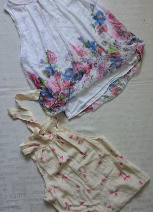 Очаровательная блуза (италия) /воздушная майка на подкладке #50%шелк,50%вискоза#7 фото