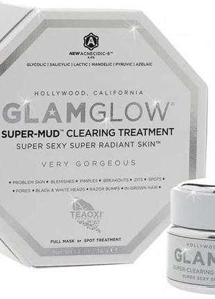 Glamglow очищающая маска для лица