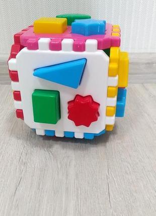 Сортер кубик сортер