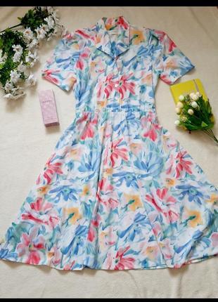 Платье ретро винтаж🌸🌸🌸