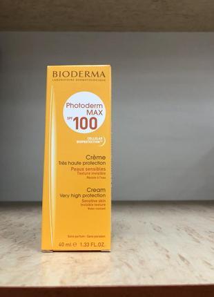 Фотодерм макс крем  spf 100 + bioderma