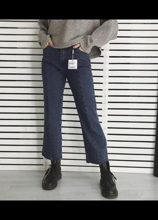 Укороченые джинсы кюлоты edited {asos}