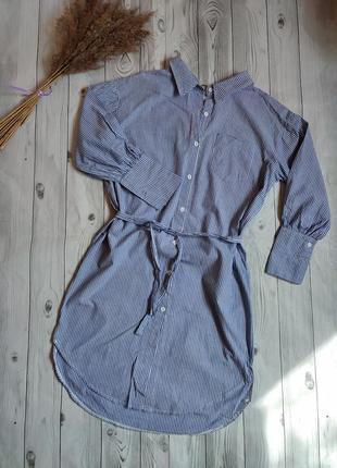Платье - рубашка,миди