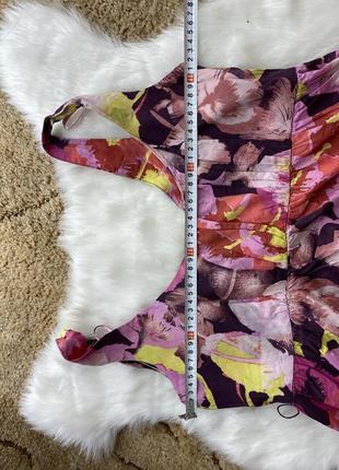 Платье сарафан в цветочный принт3 фото