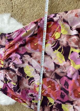 Платье сарафан в цветочный принт7 фото