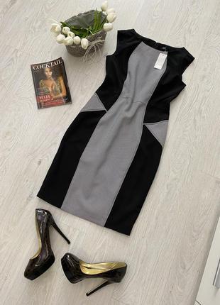 Платье сарафан в офисном стиле f&f