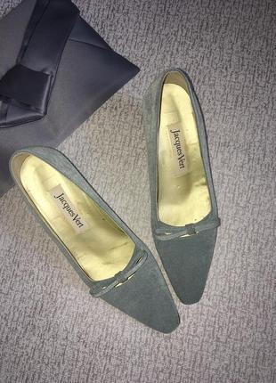 Туфли винтажные jacgues vert-38р.