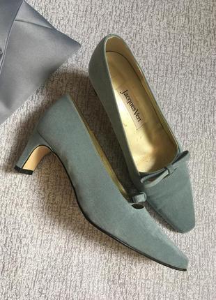 Туфли винтажные jacgues vert-38р.3 фото