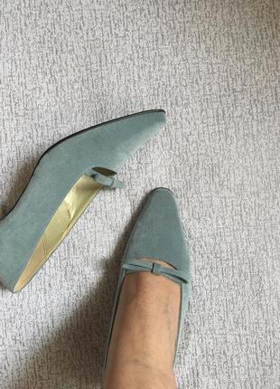 Туфли винтажные jacgues vert-38р.4 фото