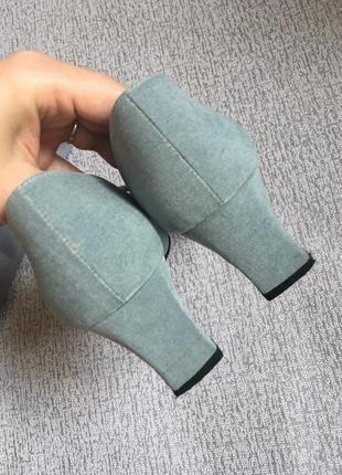Туфли винтажные jacgues vert-38р.6 фото