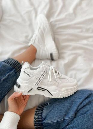 Стильные кроссовки на актуальной подошве😌