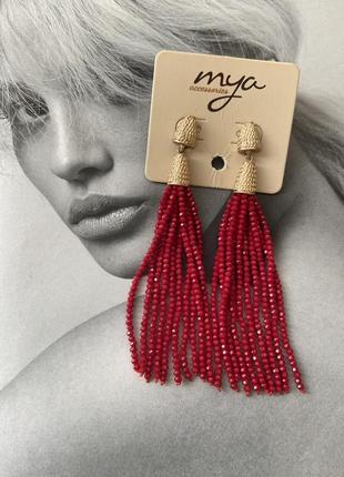 Сережки серьги гвоздики италия mya