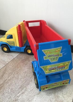 Игрушка грузовик wader super truck вадер супер трак